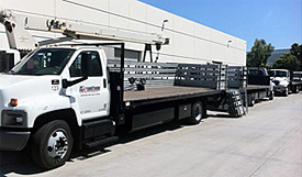 CNG 24ft Steak Bed Truck
